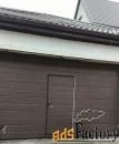 Ворота подъемные для гаража Алютех