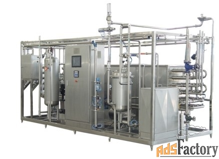 Стерилизатор для молока на 1000 л/час