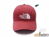 Бейсболка кепка The North Face (бордовый)