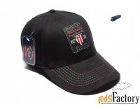 Бейсболка кепка Paul Shark KP38 flexible (черный)