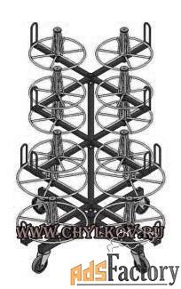 Стеллаж кабельный СКБ 12-0,5-30.