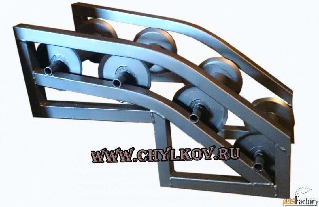 Ролик монтажный угловой РКУ 4-120А.