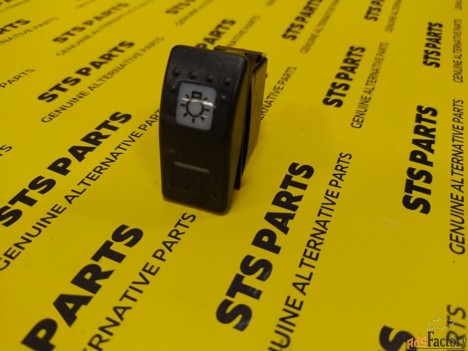 Клавиша выключателя дорожного освещения JCB 701/58824 701/60004