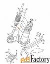 Рычаг переключения (кулиса) JCB 445/05503
