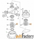 Диск металлический дифференциала JCB 450/20403