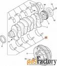 Вкладыш коренные 1 ремонт 0,25 JCB 320/09336