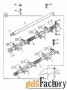 Клапан пыли на воздушный фильтр JCB 32/206007