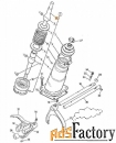 Рычаг переключения (кулиса) JCB 445/05501