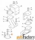 Подушка двигателя JCB 331/65851