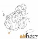 Турбина JCB двигатель PERKINS 02/203160