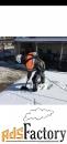 Чистка крыши от снега сосулек и наледи.