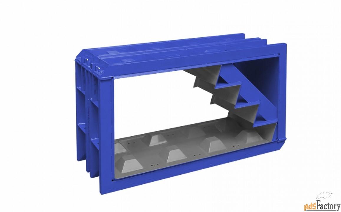 Металлоформы лего блоков лестничные
