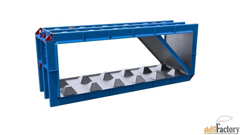 Металлоформы лего блоков, имеющих скос