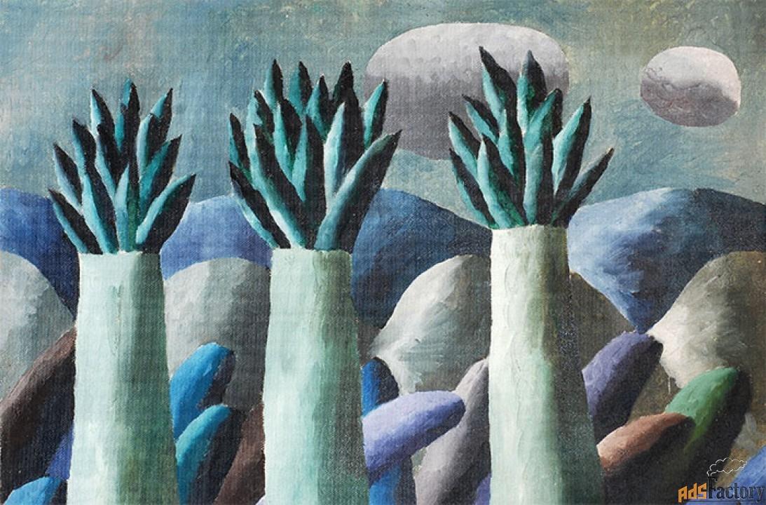 Картина, автор П. Матвеев
