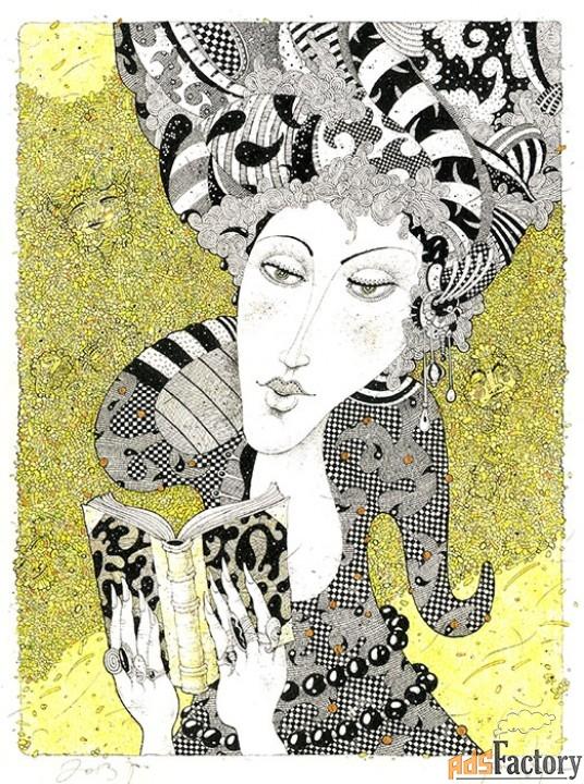 Картина, автор М. Семашин
