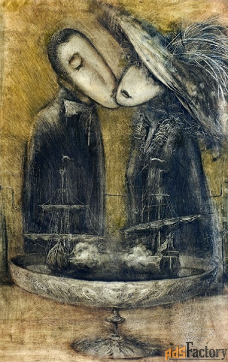 Картина, автор В. Макеев
