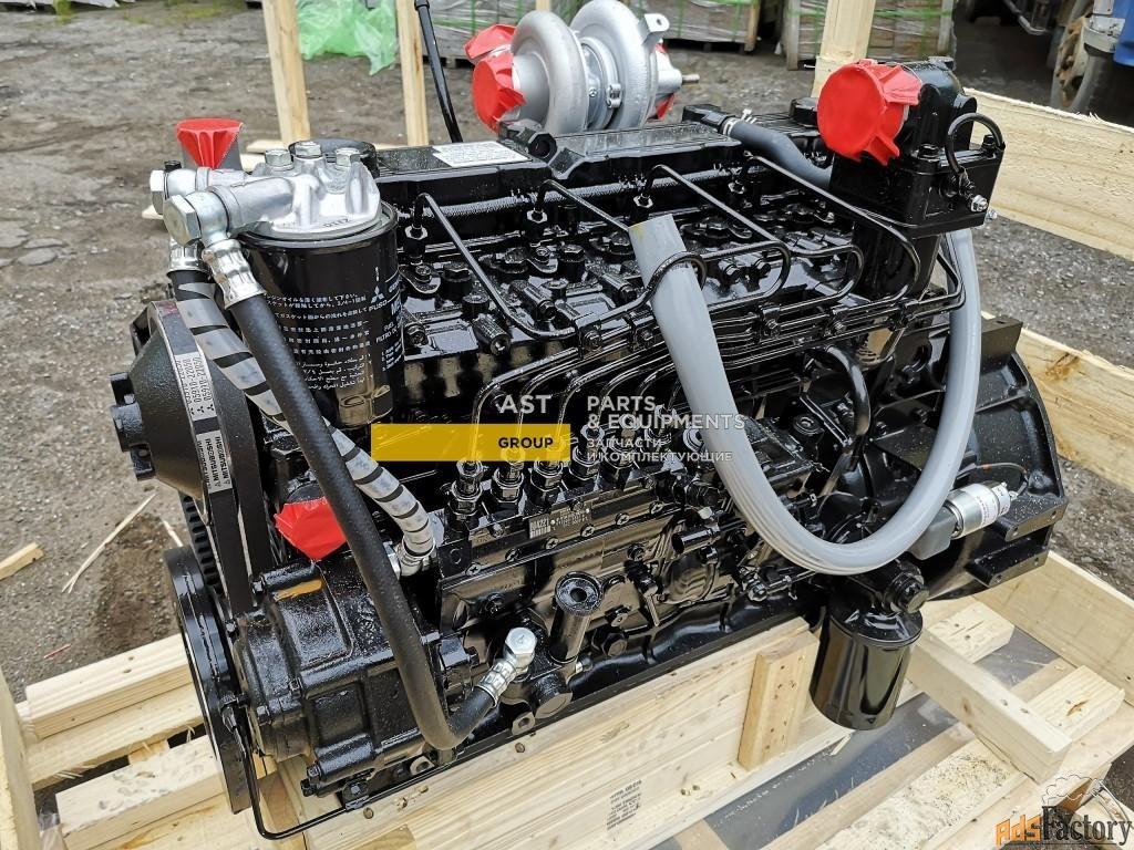 Двигатель MITSUBISHI S6S-DT для экскаваторов HYUNDAI