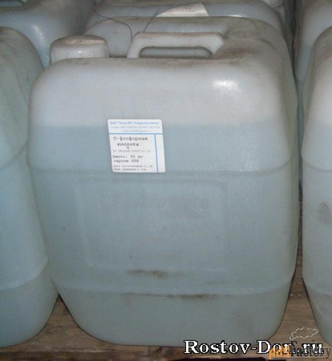 Ортофосфорная кислота, от 67 %, кан. 33 кг