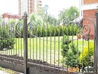 Кованые заборы и ограды - изготовим на заказ