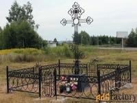 Кованые надгробные кресты - изготовим на заказ