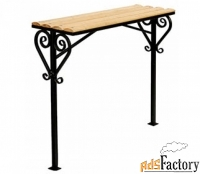 Кованые и сварные столы, лавки на кладбище - изготовим на заказ