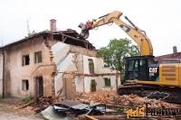 Демонтаж, разборка, снос зданий и сооружений