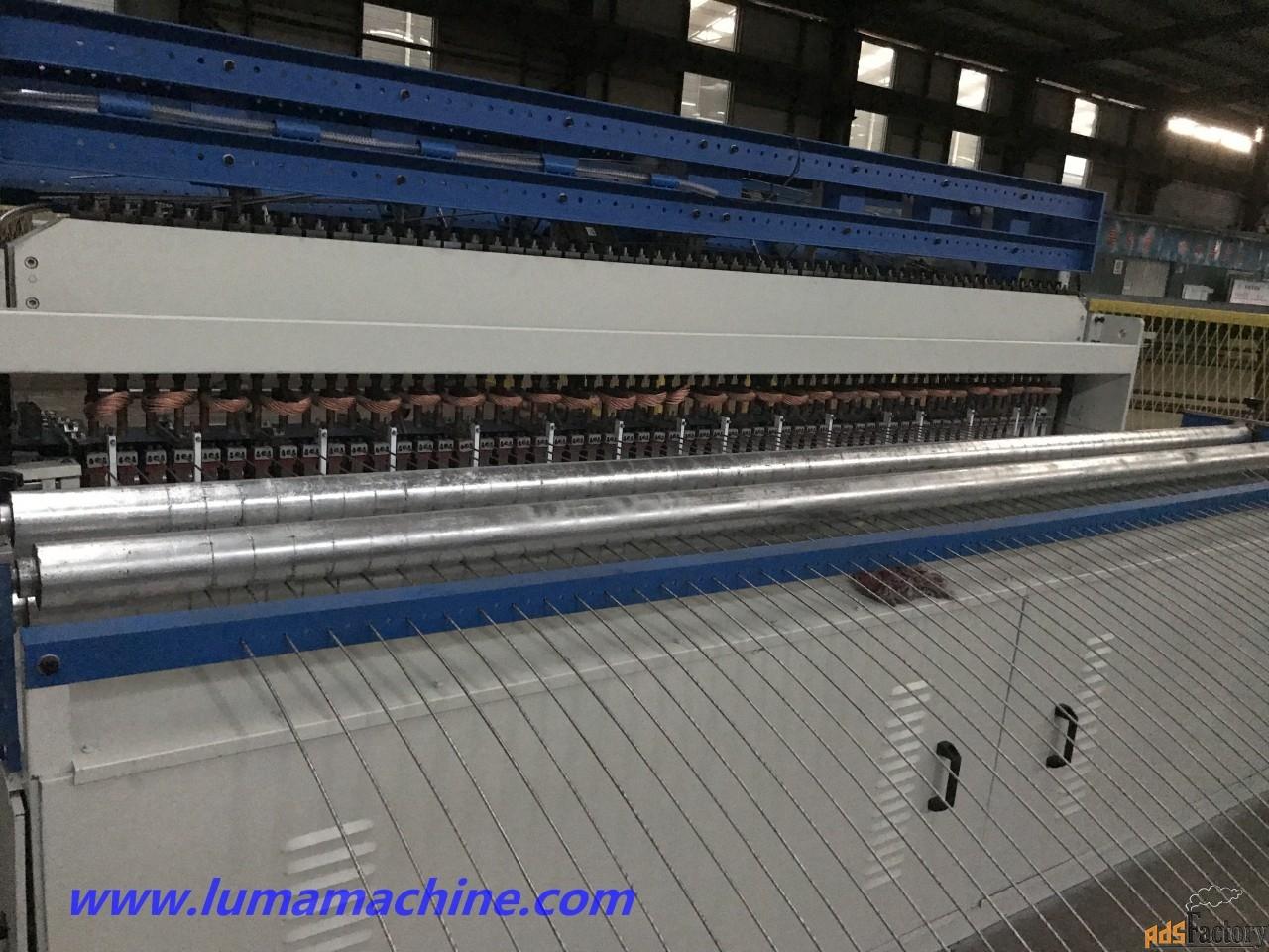 Станок для производства сварной кладочной сетки