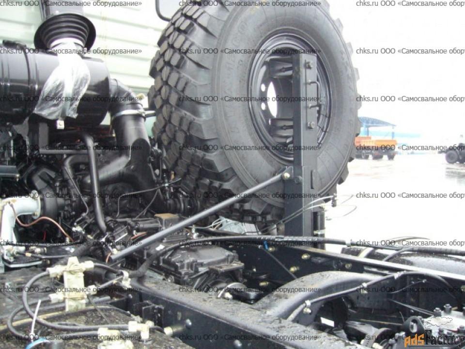 Держатель запасного колеса 43114 (ДЗК 43114) за кабиной