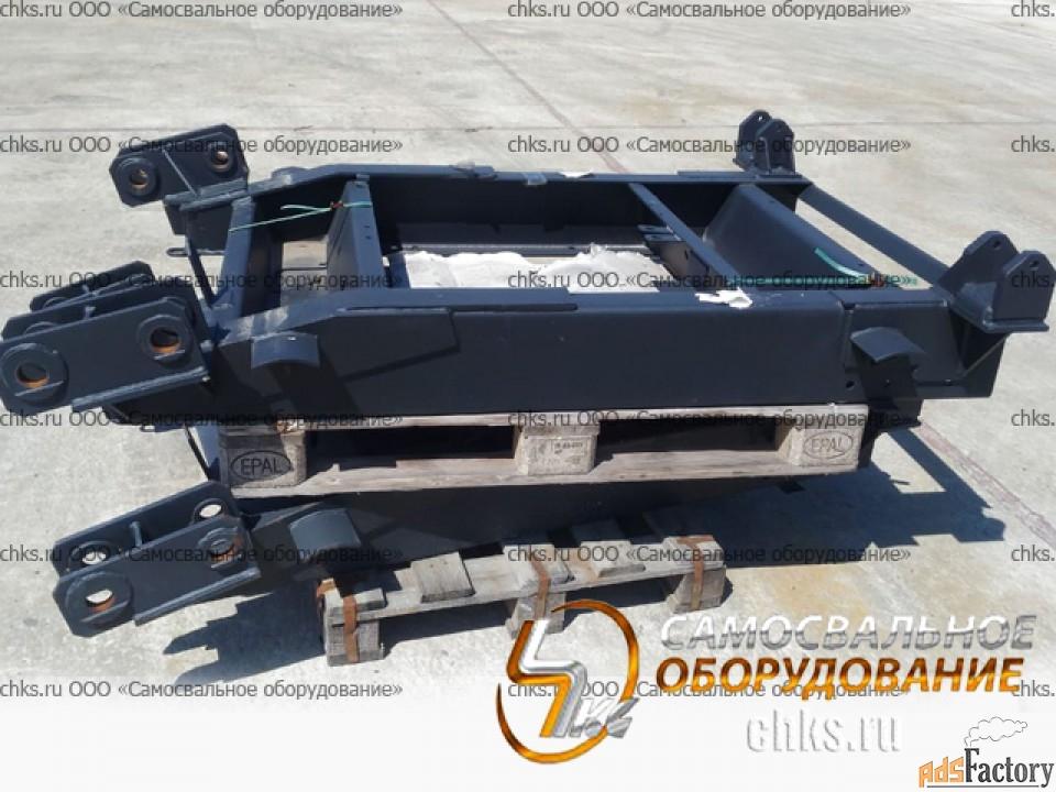 Рама поворотной тележки 8602 под рессору ЗИЛ с/о