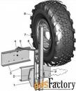 Держатель запасного колеса ЕВРО 5 (ДЗК ЕВРО5)
