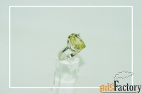 Серебреное кольцо с цитрином