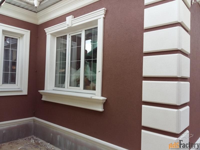 фасады домов из полиуретана фото старалась