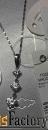 Серебряная подвеска с фианитами SOKOLOV