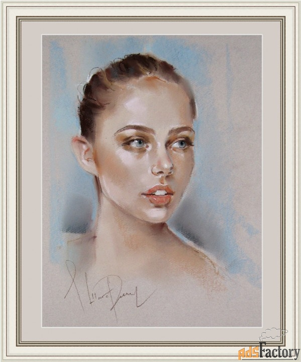 Портреты пастелью на заказ