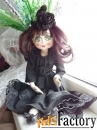 Текстильные куклы ручной работы в подарок, для интерьера, игровые.v-3
