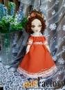 Текстильные куклы ручной работы в подарок, для интерьера, игровые.v-6