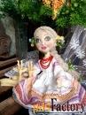 Текстильные куклы ручной работы в подарок, для интерьера, игровые.v-7
