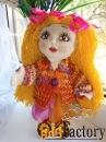 Текстильные куклы ручной работы в подарок, для интерьера, игровые.v-8