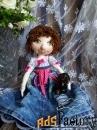 Текстильные куклы ручной работы в подарок, для интерьера, игровые.v-9