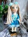 Текстильные куклы ручной работы в подарок, для интерьера, игровые.v-10