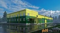 Проектирование, производство и строительство быстровозводимых зданий