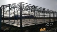 Ангары, СТО, павильоны (готовые  конструкции и на заказ)