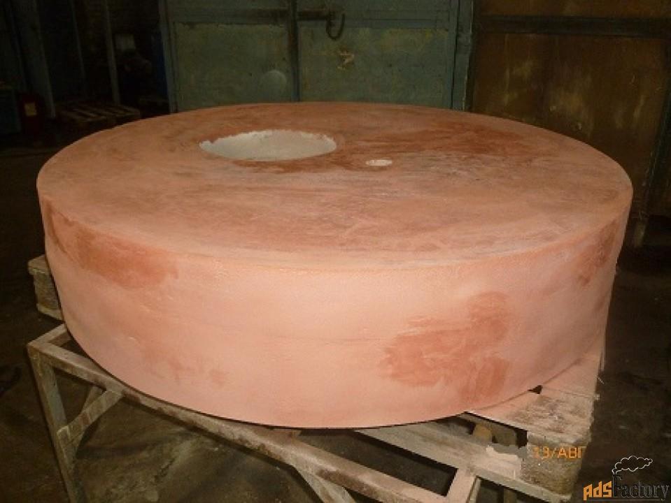 Плита шамотная круглая для печей котлов высокотемпературная