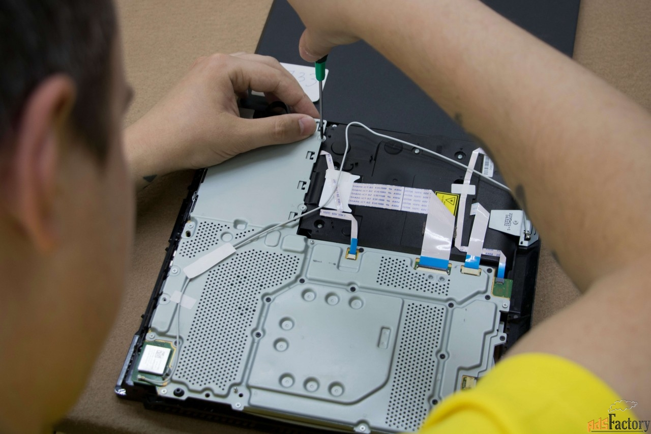 Ремонт игровых приставок PlayStation, Xbox и другой электроники