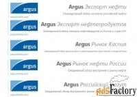 Информационно аналитические выпуски от PLATTS и АРГУС