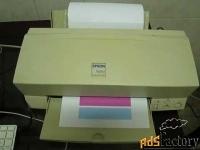 продается принтер epson stylus color 600. б/у. состояние хорошее. цена
