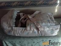 продается новая сумка переноска для малышей. цена 1000 руб.