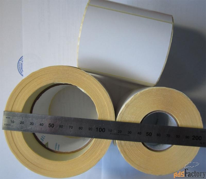 этикетки самоклеящиеся 94х80 мм полуглянцевые, 500 шт в рулоне