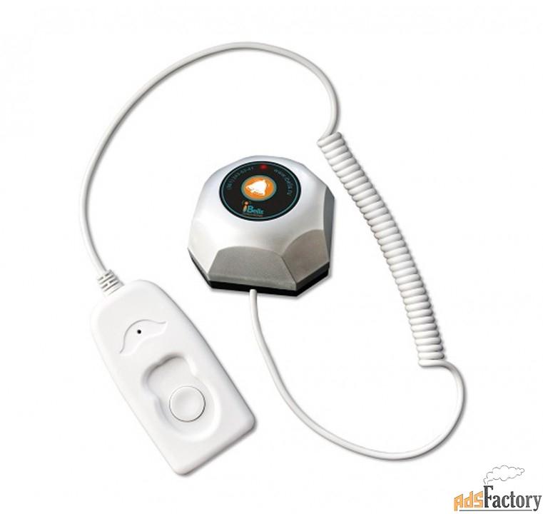 ibells-301м, кнопка вызова медперсонала для медучреждений, со шнуром