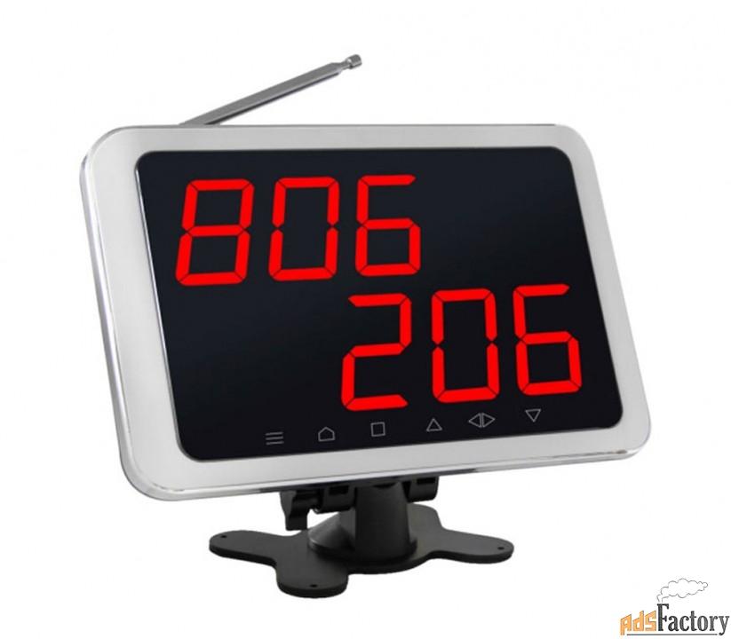 ibells 106, табло отображения вызовов для персонала, сенсорное